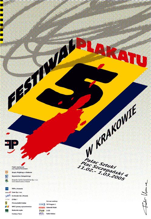 2005, 5th Poster Festival in Krakow