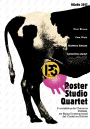 2017, Poster Studio Quartet Exhibition in La Paz