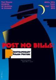 2010, Post no Bills, Poster Studio Exhibition in Chicago