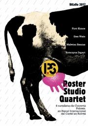 2017, Poster Studio Quartet Exhibition in La Paz