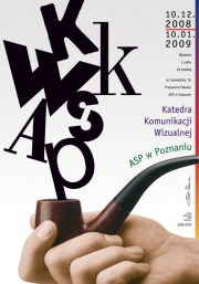 2009, Visual Communication Dept from Poznan, exhibition