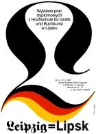 1987, Leipzig=Lipsk, typography exhibition