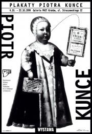 1995, Piotr Kunce Posters in Krakow