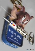 2014, Polish Jazz Poster at Bucharest Jazz Festival