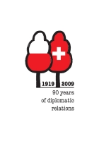 2009, 90 years of diplomatic relations Poland- Switherland