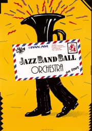 1989, Jazz Band Ball Orchestra on Tour