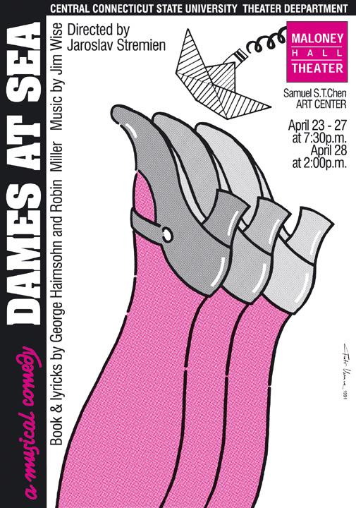 1991, Dames at Sea - musical