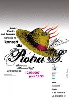 2007, Concert for Piotr (a)