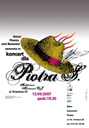2007, Concert for Piotr (a)