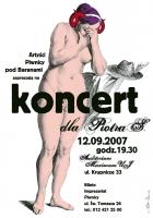 2007, Concert for Piotr