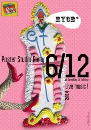 2014, Poster Studio Party