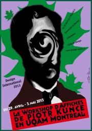 2013, Piotr Kunce workshop in Montreal