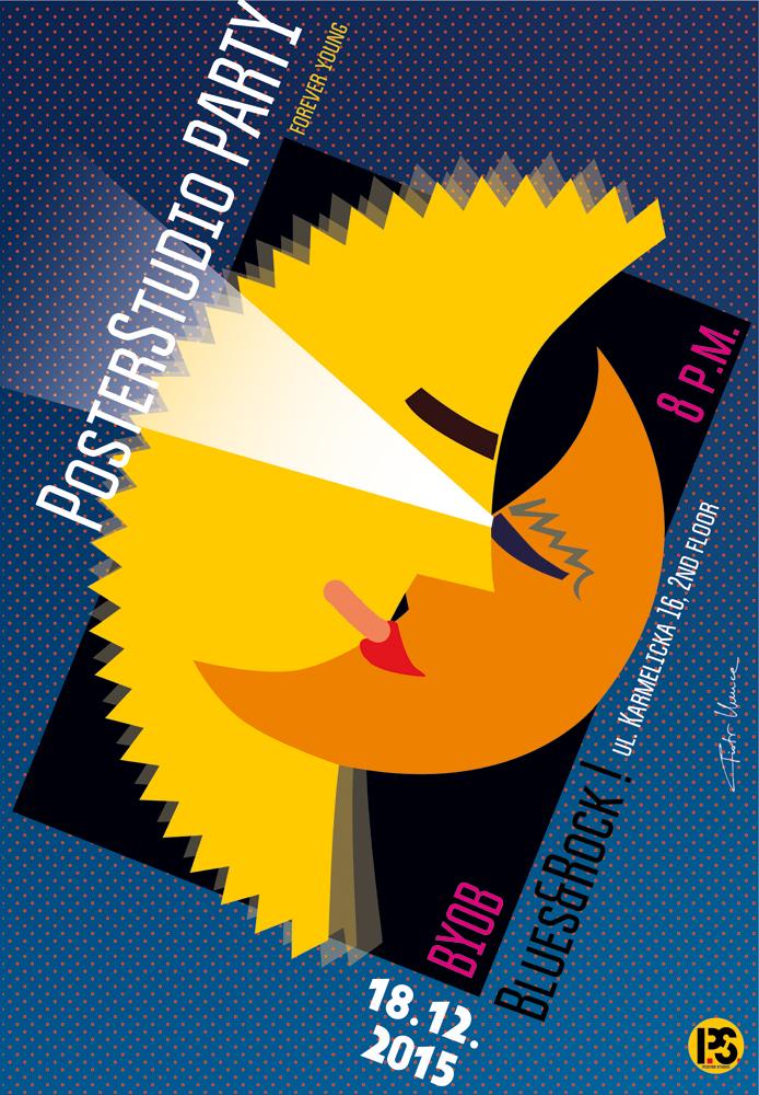 2015, Poster Studio Party
